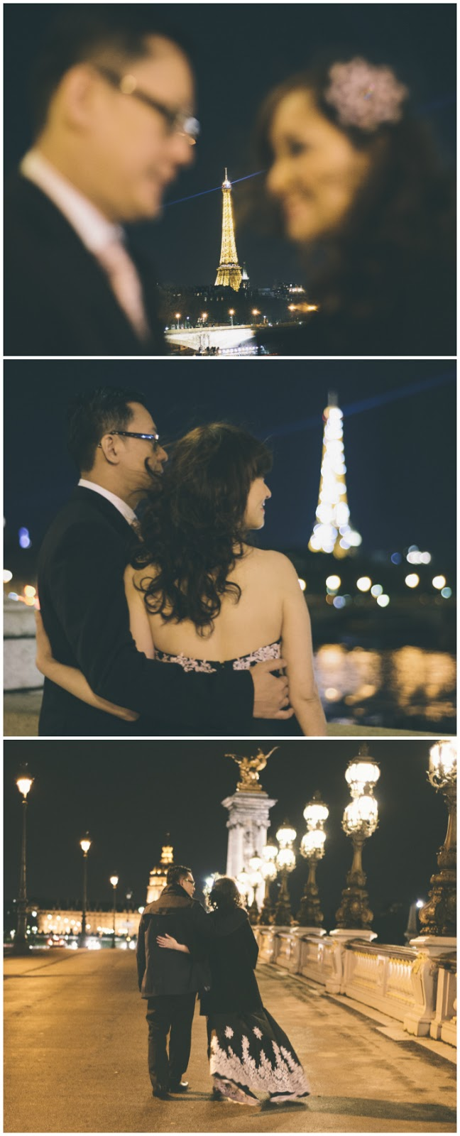 Paris Eiffel Tower PreWedding Photo