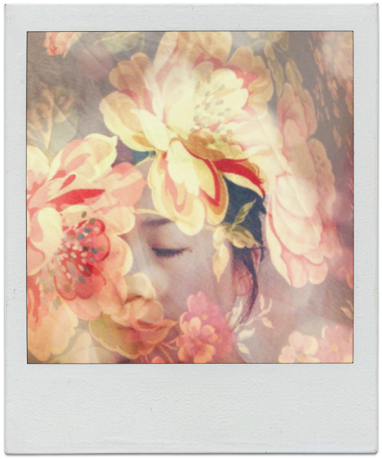 polaroid double exposure