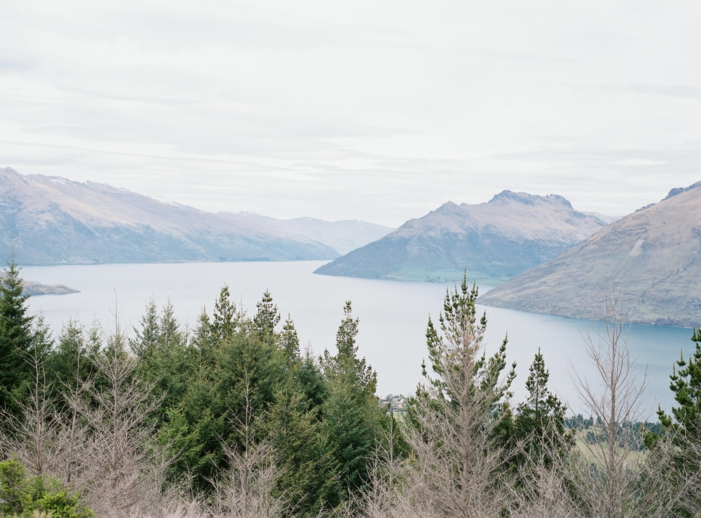 Queenstown top of the hill view