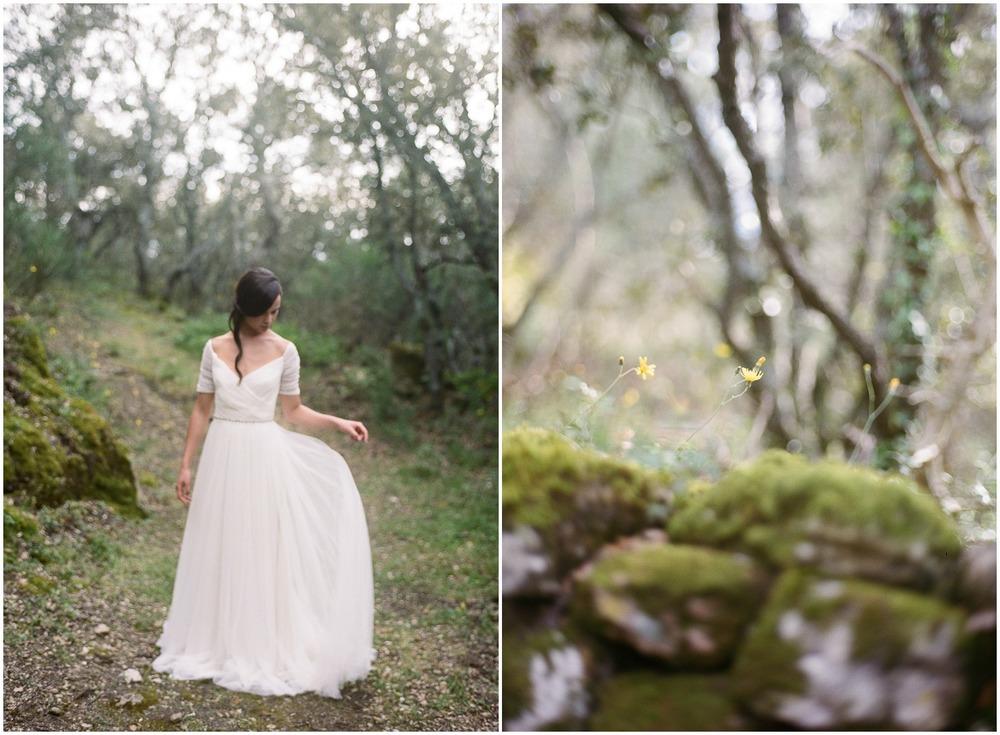Bride & Wood Moss ©Celine Chhuon