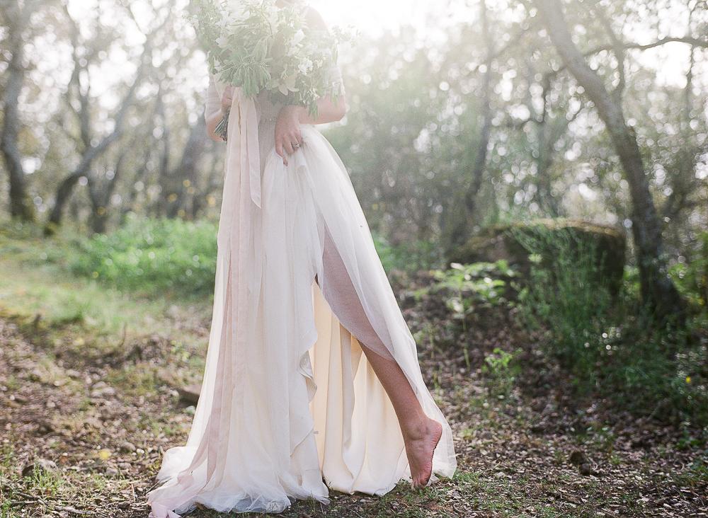 Barefoot Bride ©Celine Chhuon Fine Art Photographer