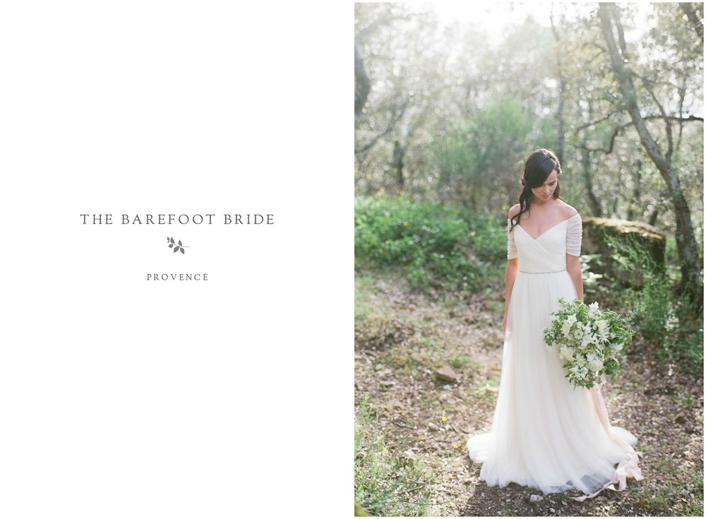 Jenny Packham Bride in Provence | French Wedding Photographer ©Celine Chhuon