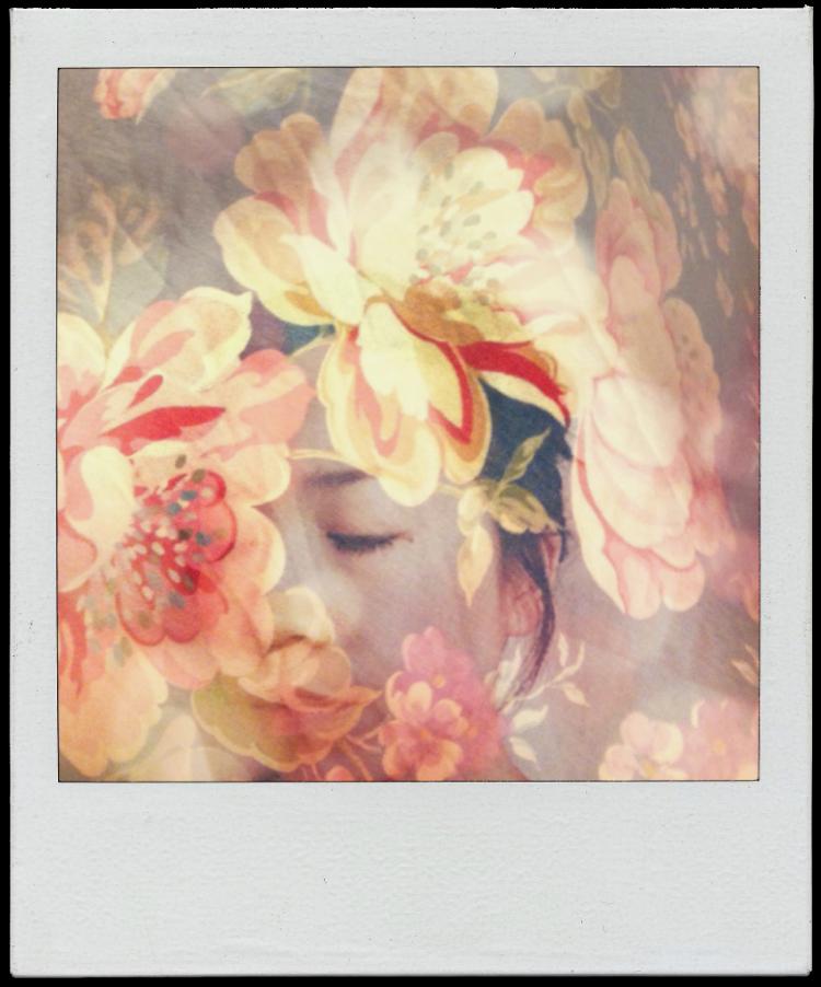 polaroid double exposure