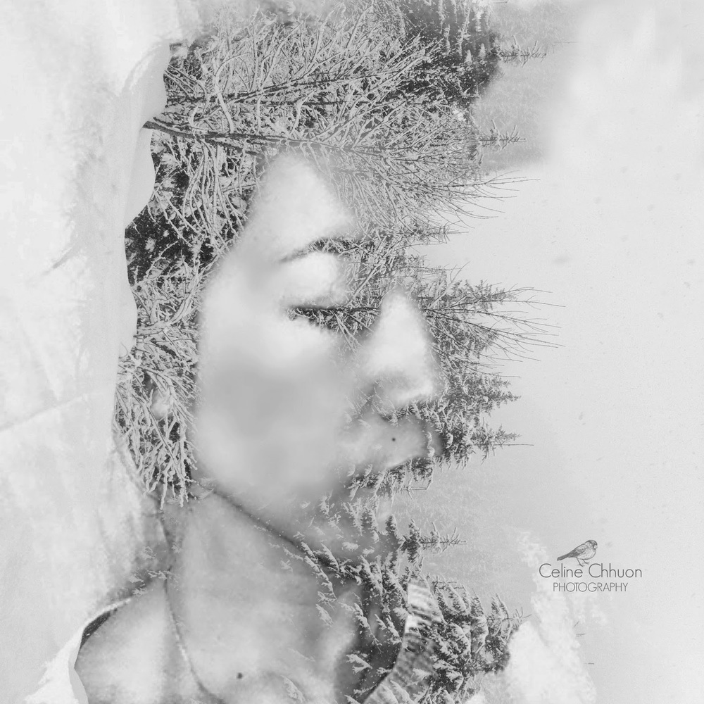 double exposure photo