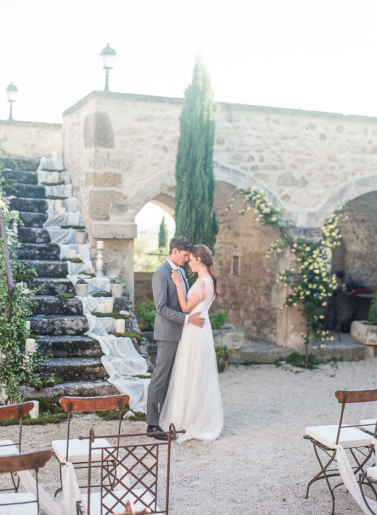 romantic French Provence wedding
