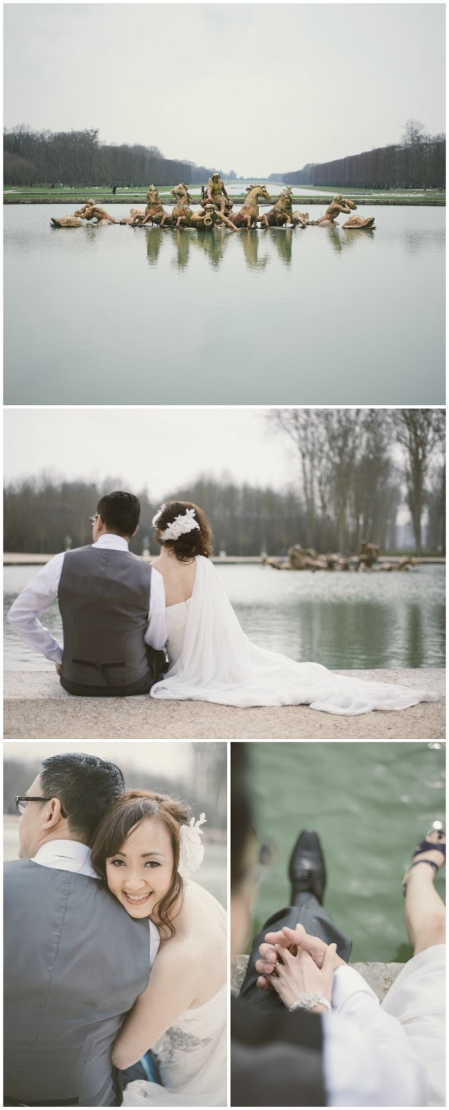 Paris PreWedding Versailles