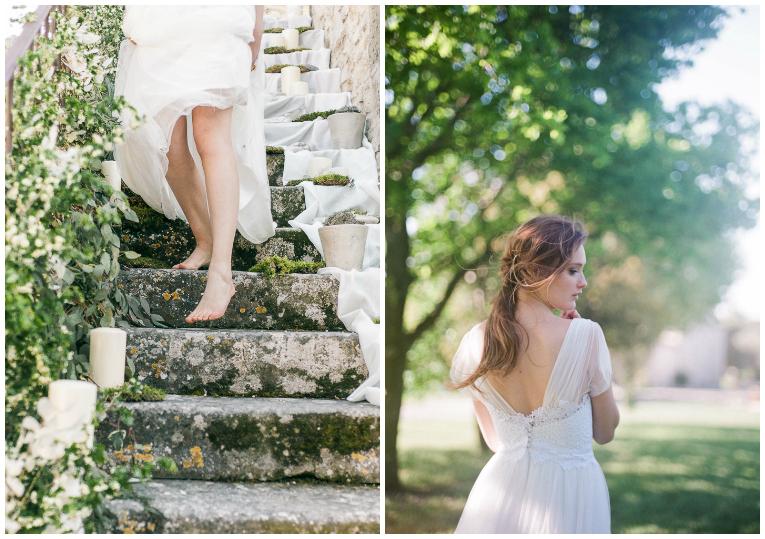 barefeet bride
