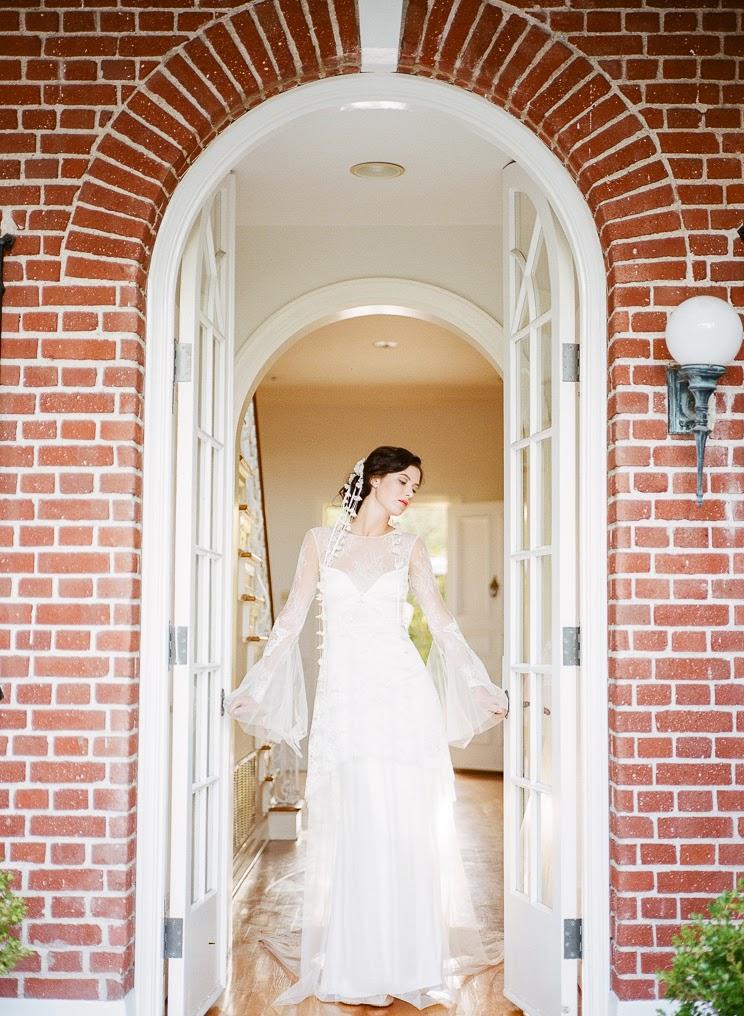 Robe de mariée Claire Pettibone - Celine Chhuon Photography