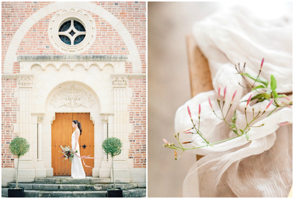Wedding in French Chateau de Varennes in Burgundy