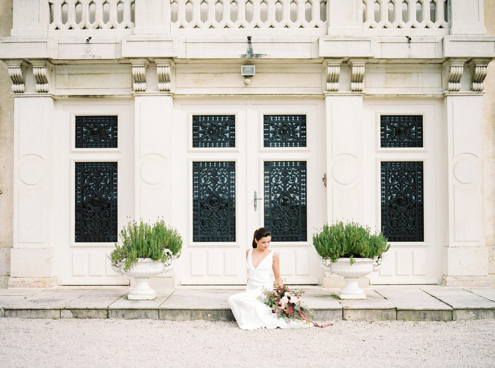 French chateau elegant wedding
