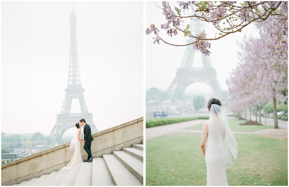 Paris engagement photos best spots