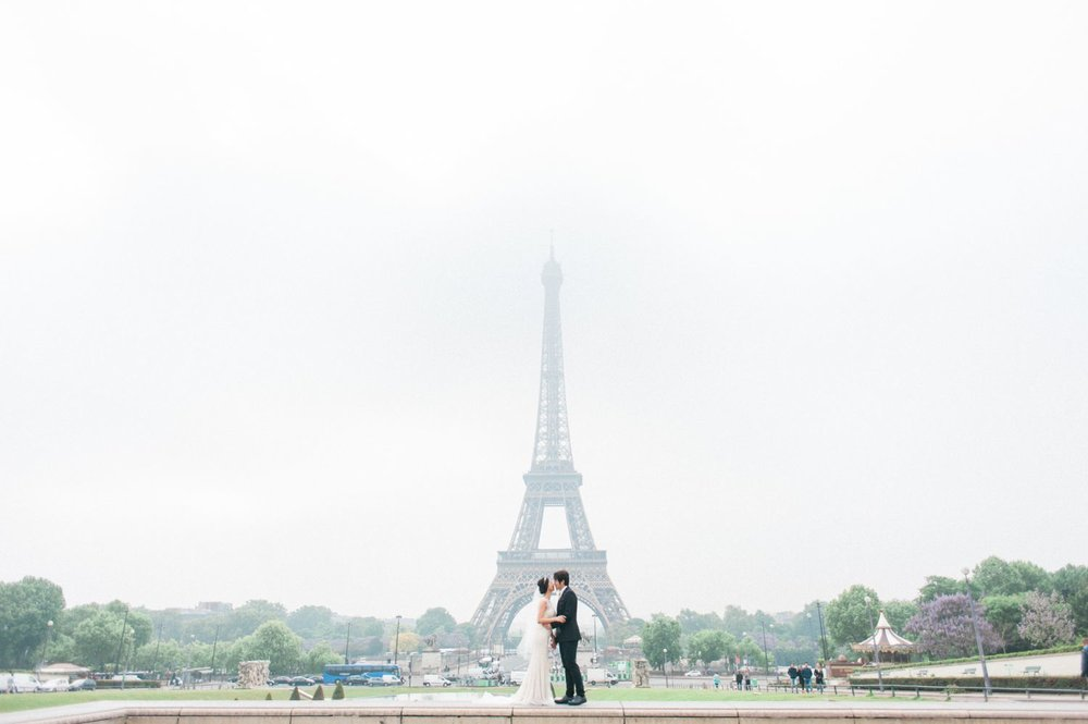 Paris engagement photo best spots