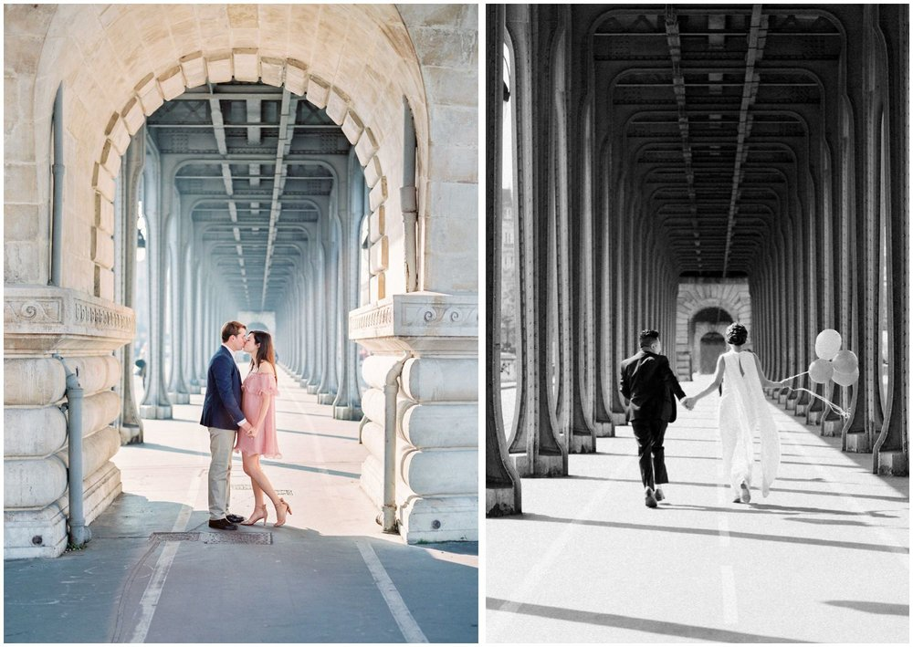 best spots for paris engagement photo