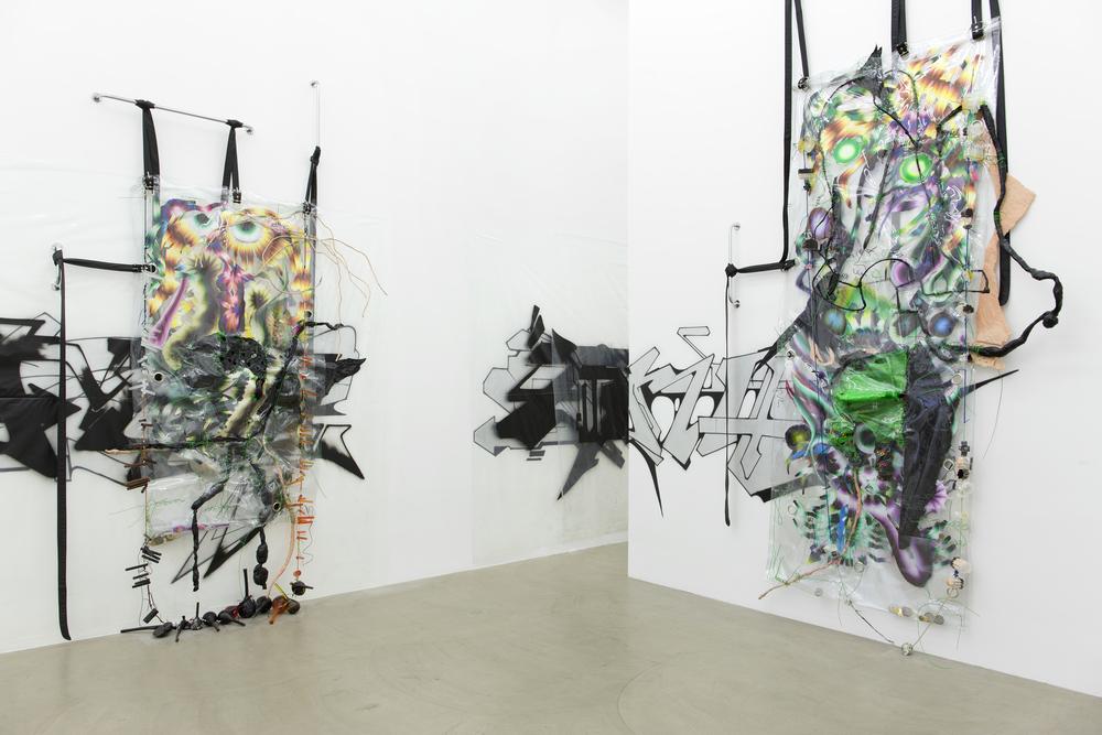 Galerie Meyer Kainer, KAYA V, Kerstin Brätsch, Debo Eilers, curated by N.O.Madski, 2015