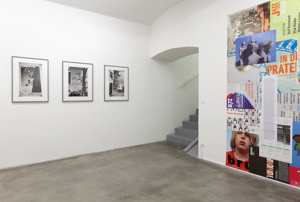 Exhibition View, Galerie Martin Janda, 2016, Photo: Markus Wörgötter