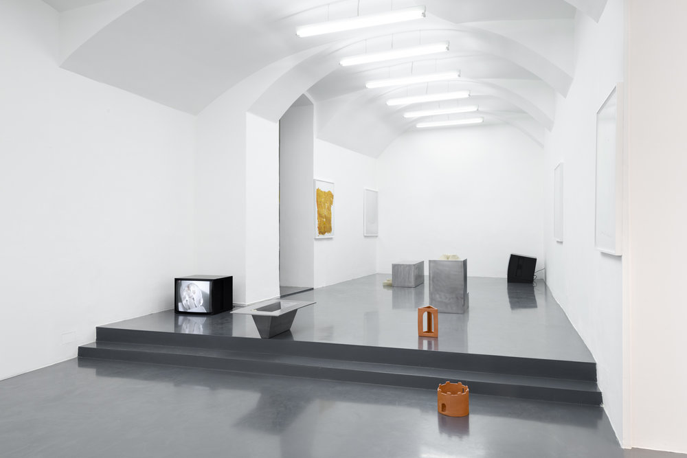 Exhibition View, Fieber, curated by Kari Rittenbach, Galerie Emanuel Layr, 2016. Courtesy: Galerie Emanuel Layr