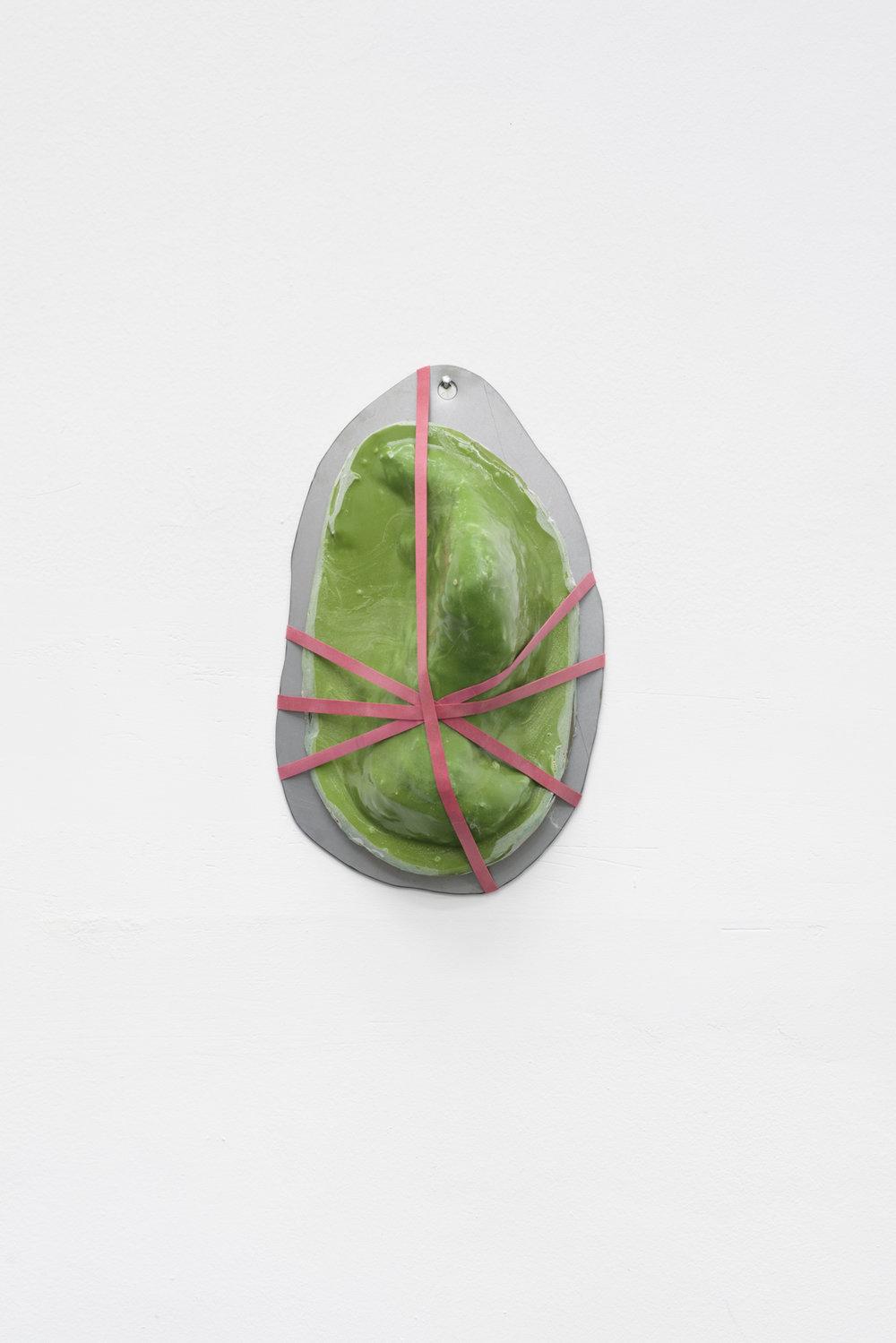 Lena Henke, Eure Frankfurter Küche, 2016, Metal, Sand, silicone, fibreglass, epoxy resin, rubber, Courtesy: Galerie Emanuel Layr