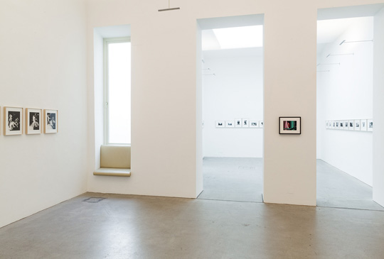 Exhibition View, Feckless and Hotheaded, curated by Æsa Sigurjónsdóttir, 2016, Galerie Raum mit Licht © Christoph Fuchs
