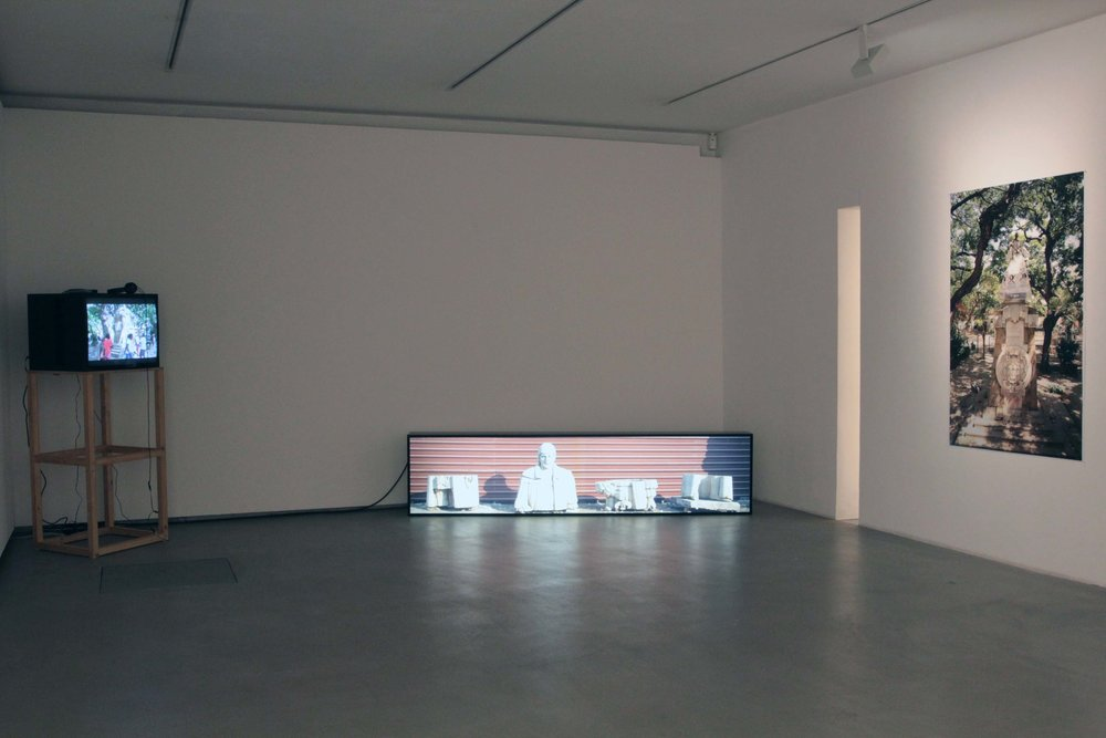 Exhibition View, Mario Mauroner Contemporary Art, curated by_Luigi Fassi, 2016, Photo: MAM