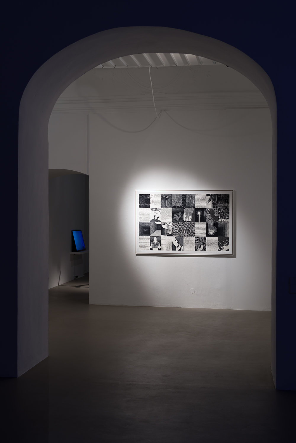 Exhibition View, Charim Galerie, curated by_Bassam El Baroni, 2016, Photo: Charim Galerie