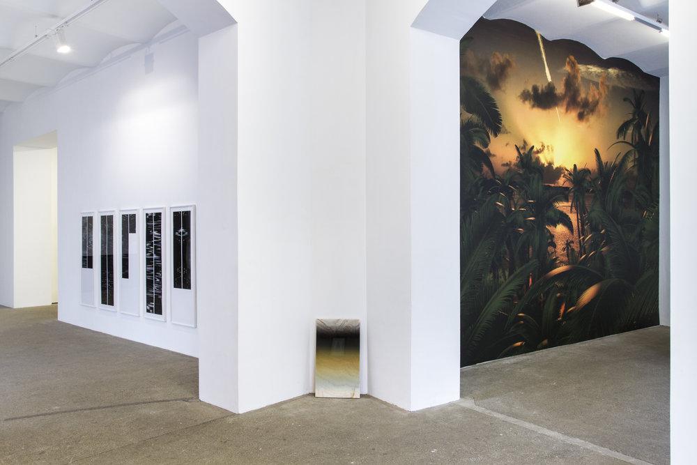 RE-CODING curated by_Dieter Buchhart & Anna Karina Hofbauer, Exhibition View, Galerie Elisabeth & Klaus Thoman, Vienna, 2016 Photo: Galerie Elisabeth & Klaus Thoman/Lena Kienzer