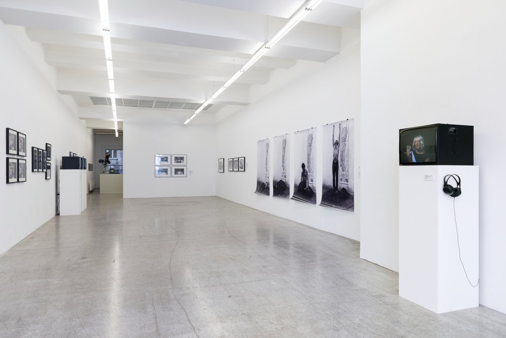 Exhibition View, Kerstin Engholm Galerie, Resistance Performed Revised – Aesthetic Strategies under Repressive Regimes in Latin America, curated by_Heike Munder, 2016, Photo: Kerstin Engholm Galerie