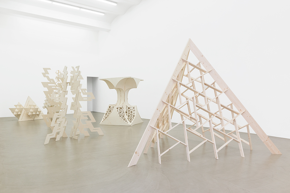 Exhibition View, Galerie Meyer Kainer,2016, Photo: Galerie Meyer Kainer