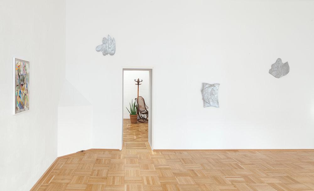 Exhibition View, Galerie nächst St. Stephan Rosemarie Schwarzwälder, 2016,   Photo: Markus Wörgötter