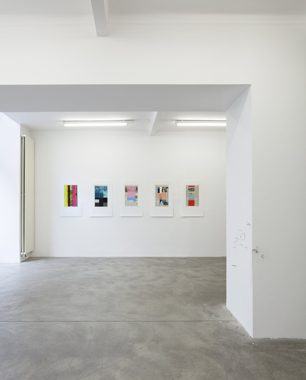 Exhibition View, Galerie Martin Janda, curated by_Joe Scanlan, 2015, Photo: Markus Wörgötter