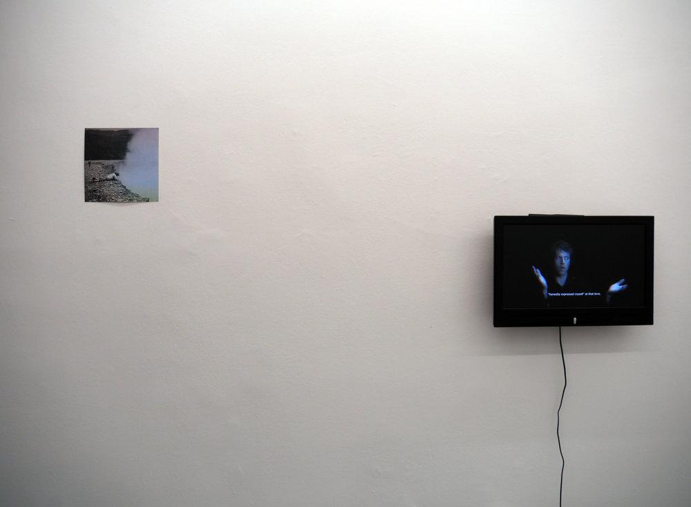 Exhibition View, Łukasz Jastrubczak – hollow blocks in windowless room,   curated by_Sebastian Cichocki, 2015, Knoll Galerie, Courtesy: Knoll Galerie