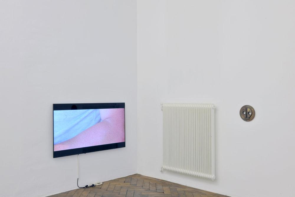 Exhibition View, Galerie Hubert Winter, curated by_ Alfredo Cramerotti, 2015, Photo: Galerie Hubert Winter