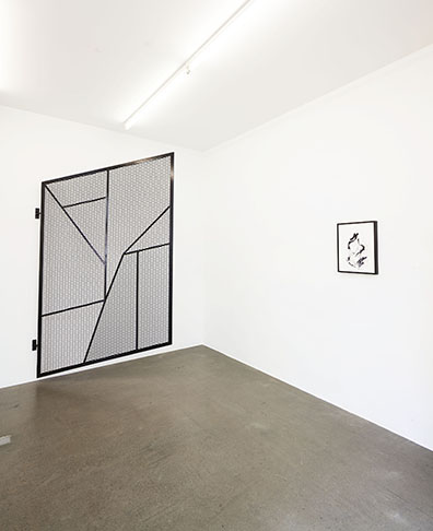 Exhibition View, Notes on Sculpture. A plea for deceleration, 2015, Galerie Krobath, Photo: Rudolf Strobl