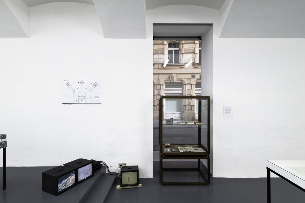 """Annexes: books, editions & vitrines and a new presentation of """"Berlin Local"""", curated by Catherine Chevalier & Benjamin Hirte, Installation View, Galerie Emanuel Layr"""