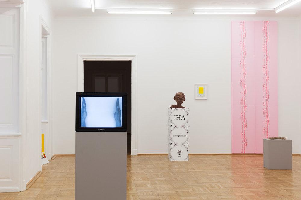 Exhibition View, Galerie nächst St.Stephan Rosemarie Schwarzwälder, curated by_ Kolja Reichert, 2015, Photo: Galerie nächst St.Stephan