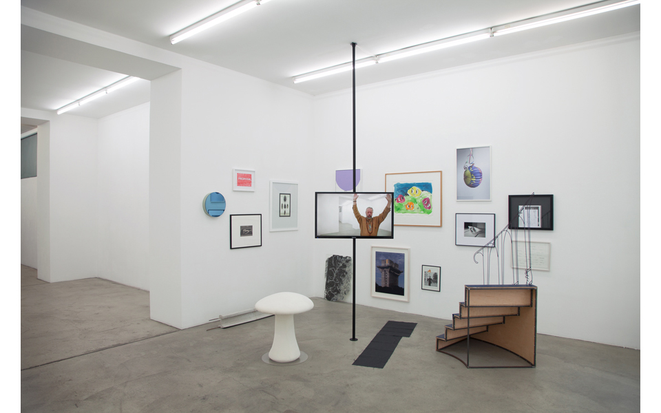 Exhibition View, FAMED-Privileg der Umstände, curated by Marcus Andrew Hurttig, Gabriele Senn Galerie, 2015, Courtesy: Gabriele Senn Galerie