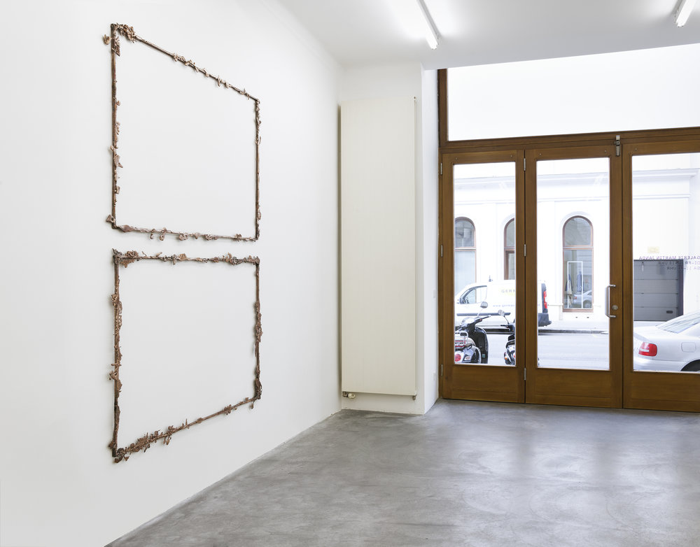 Exhibition View, Galerie Martin Janda,A Mouse Drowned in a Honey Pot curated by_Magalí Arriola, Exhibition View, Photo: Markus Wirgitter, Vienna, 2014