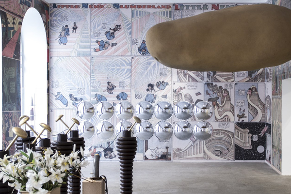 "Exhibition View ""Little Nemo"" curated by_Max Hollein, 2014, Galerie Elisabeth & Klaus Thoman, Photo: Lena Kienzer"