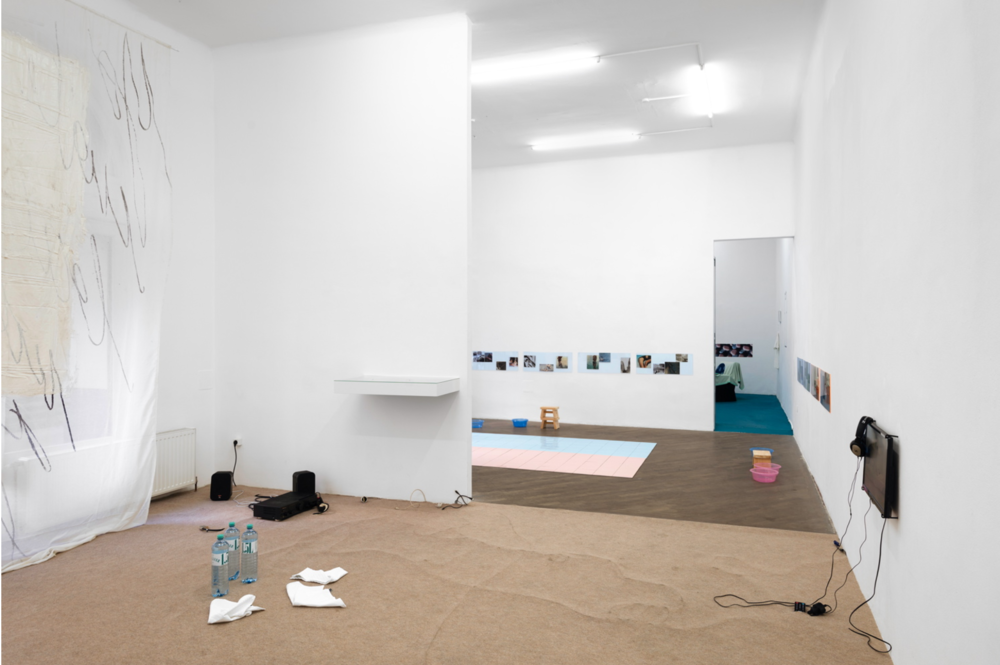 Excerpts from How They Met curated by_Egija Inzule, Exhibition View, Photo: Galerie Emanuel Layr, Vienna, 2014