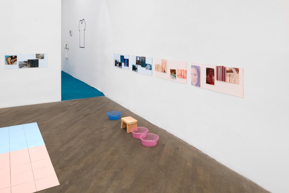 "Exhibition View ""Excerpts from How They Met"", curated by_Egija Inzule, 2014, Courtesy: Galerie Emanuel Layr"