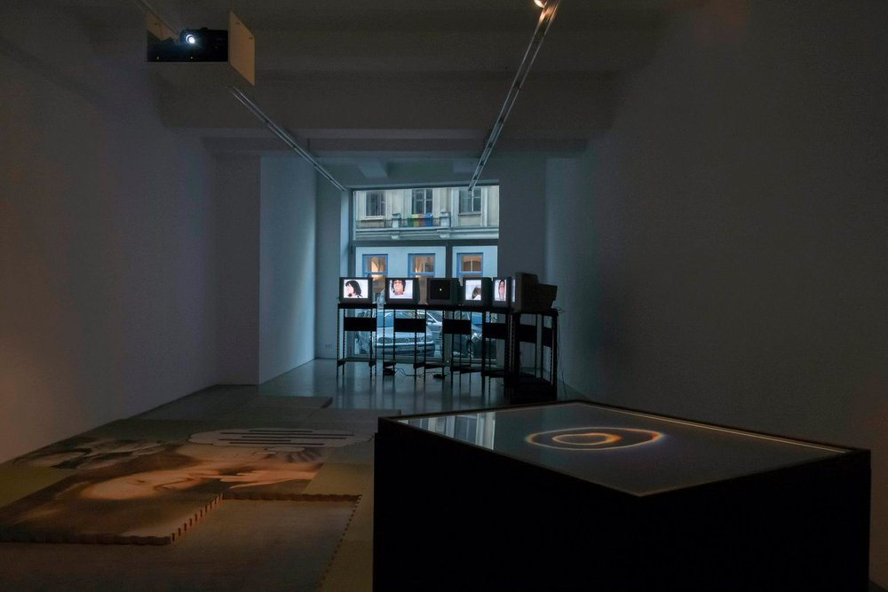 Surface Modeling curated by_Carson Chan, Exhibition View, Kerstin Engholm Galerie, 2014, Photo: Kerstin Engholm Galerie