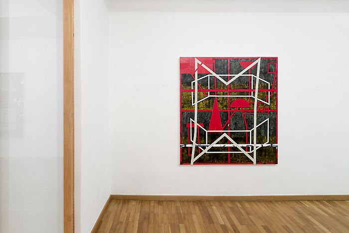 Exhibition View, Georg Kargl Fine Arts, Additive Abstraktion, curated by_Will Fowler, 2013, Photo: Georg Kargl Fine Arts