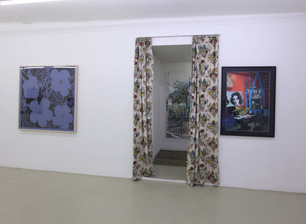 Exhibition View, Krinzinger Projekte, Cover-Up, curated by_Antony Hudek, 2013, Photo: Krinzinger Projekte