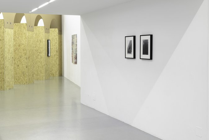 Exhibition View, Galerie Mezzanin, August, curated by_Tyler Coburn, 2013, Photo: Galerie Meezzanin