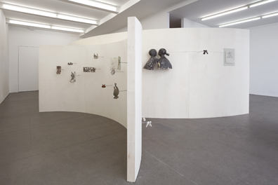 Exhibition View, Krobath Wien, The Lovers, curated by_Karel Cisar, 2012, Photo: Lisa Rastl