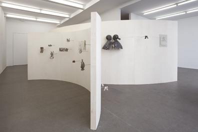 Exhibition View, Krobath Wien,The Lovers, curated by_Karel Cisar, 2012,Photo: Lisa Rastl