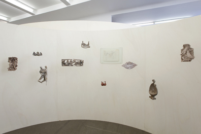 Exhibition View, Krobath Wien, The Lovers, curated by_Karel Císař, 2012, Photo: Lisa Rastl