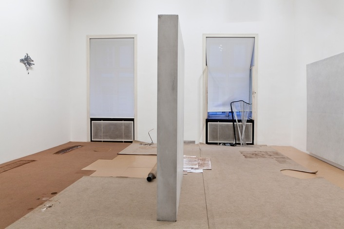 Exhibition View, Galerie Meyer Kainer, Anita Leisz | Nora Schultz, curated by_Will Benedict, 2012, Photo: Galerie Meyer Kainer