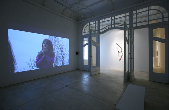 Exhibition View, Galerie Krinzinger, Zwischenlager, curated by_René Block, 2011, Photo: Galerie Krinzinger