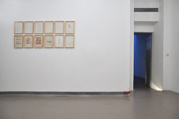 Exhibition View, Georg Kargl Fine Arts, In the future everyone will be anonymous for 15 minutes, curated by_Ana Janevski, 2011, Photo: Georg Kargl Fine Arts