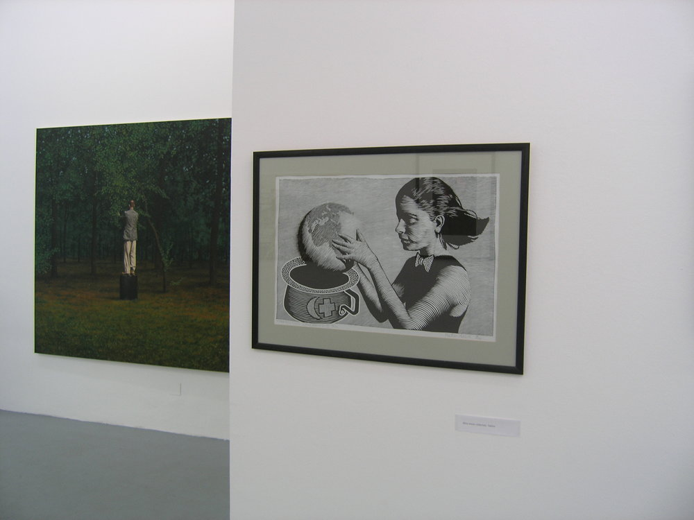 Exhibition View, Galerie Knoll, curated by_Liliana Popescu, 2011, Photo: Galerie Knoll